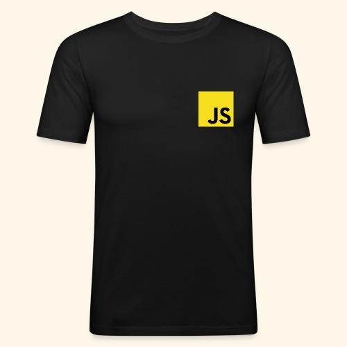 JS Developer T-Shirt - Männer Slim Fit T-Shirt