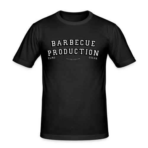 ELMO- BARBECUEPRODUCTION YOUTUBE CRETION - T-shirt près du corps Homme