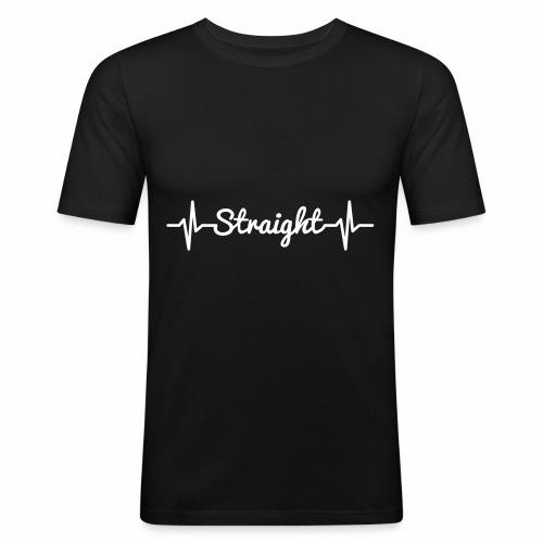 Pulse Straight - Männer Slim Fit T-Shirt
