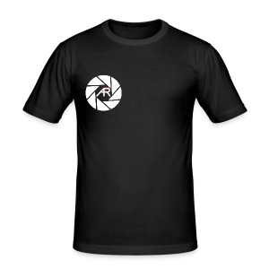 AR Photography Aperture - Men's Slim Fit T-Shirt