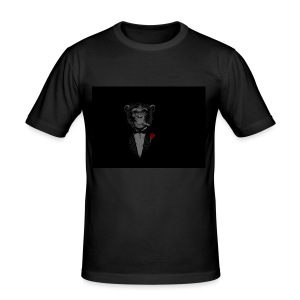 The Real Gentleman - slim fit T-shirt