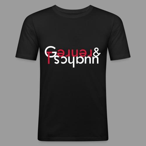 Gernerundtschann - Männer Slim Fit T-Shirt