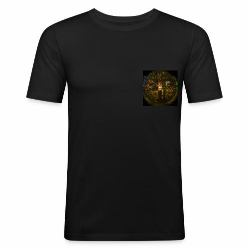 Colour Cage - Männer Slim Fit T-Shirt