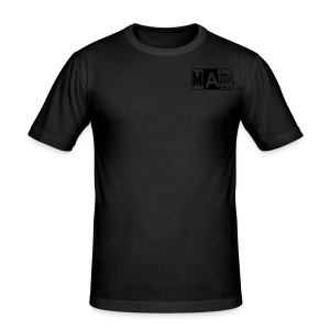 **MAD T-SHIRTS (LOGO-KLEIN)** - Männer Slim Fit T-Shirt