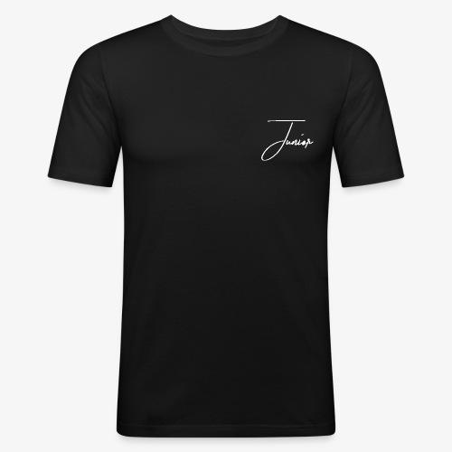Junior classic white - Männer Slim Fit T-Shirt