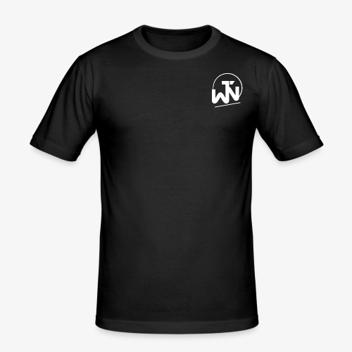 TWN Logo | Basic - Männer Slim Fit T-Shirt