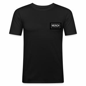 MLTD FB Share - Männer Slim Fit T-Shirt
