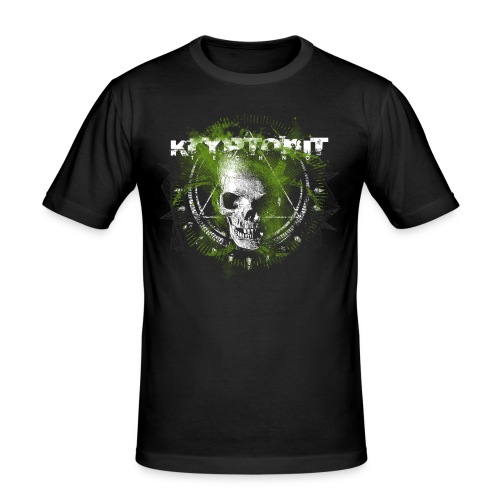 Kryptonit2 - Männer Slim Fit T-Shirt