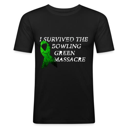 I Survived The Bowling Green Massacre - Männer Slim Fit T-Shirt