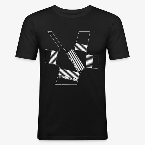 Shibuya Scramble Ver.2 - Tee shirt près du corps Homme