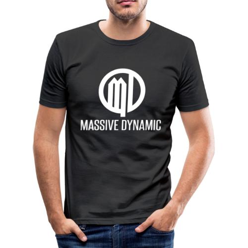 Massive Dynamic - Männer Slim Fit T-Shirt