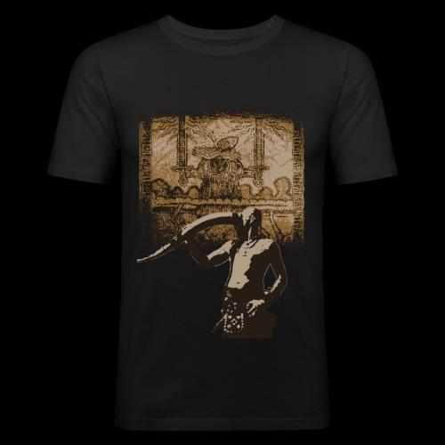 Buvons à la gloire de Svefnii - T-shirt près du corps Homme
