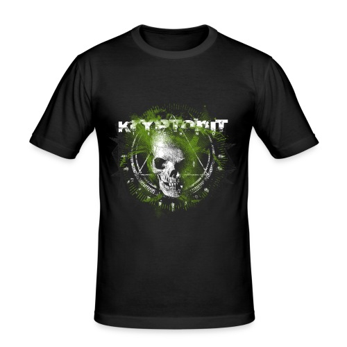 Kryptonit2 - Männer Slim Fit T-Shirt