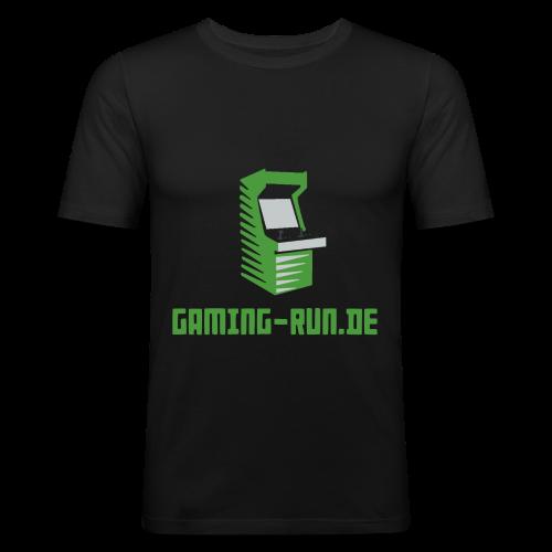 Gaming-Run.de - Männer Slim Fit T-Shirt