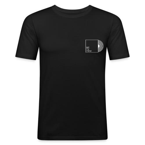 Set My Mind Logo - Männer Slim Fit T-Shirt