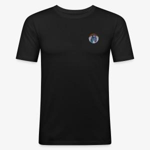 Kakkumonsteri - Miesten tyköistuva t-paita