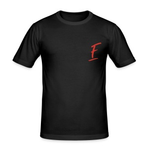 Radio Fugue F Rouge - Tee shirt près du corps Homme