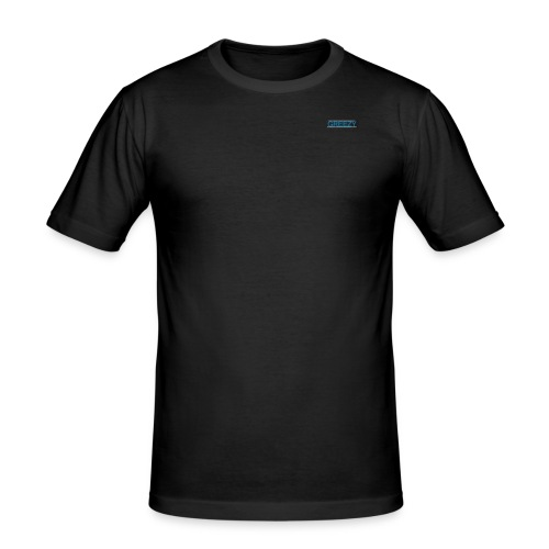 GREEZY MERCH LOGO - Men's Slim Fit T-Shirt