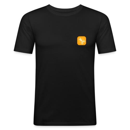 Scherenmotiv - Männer Slim Fit T-Shirt