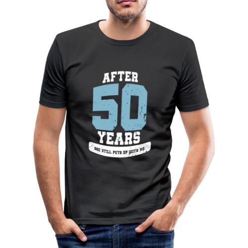 Ü50 Über 50 Jahre 50th - first - Männer Slim Fit T-Shirt