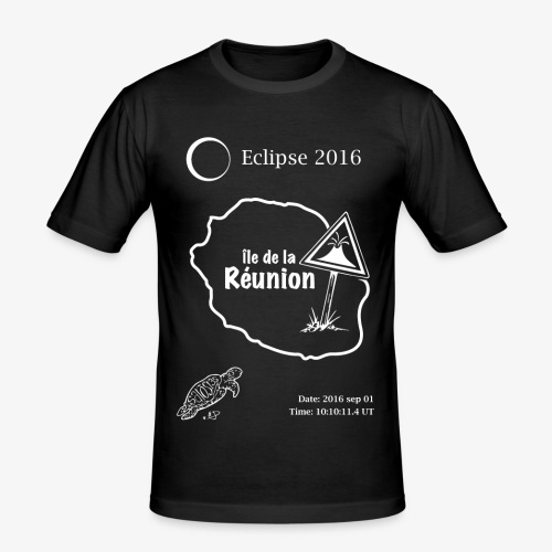 Eclipse 2016 Reunion - slim fit T-shirt