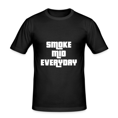 CSGO - Smoke Mid Everyday - Men's Slim Fit T-Shirt