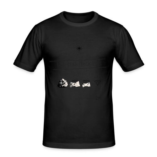 Life is a Process - Männer Slim Fit T-Shirt