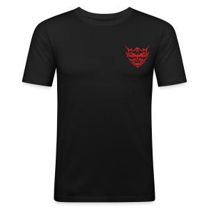 Devil Face Satans Memes Sweater - slim fit T-shirt