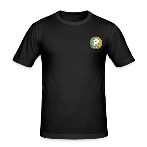 Prez Offcial Classic Design - Men's Slim Fit T-Shirt