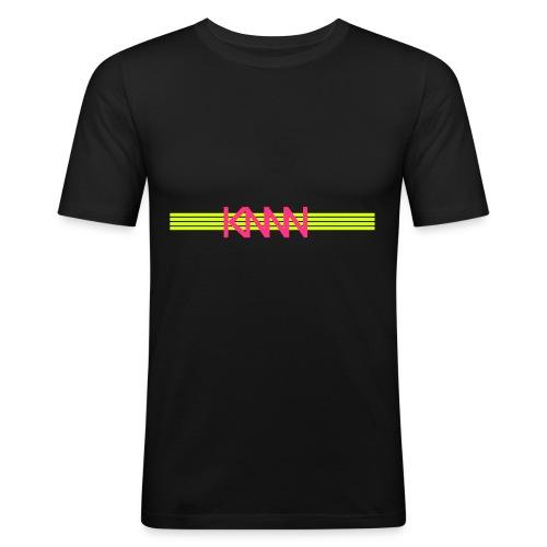 KNNN stripe-logo - Slim Fit T-shirt herr