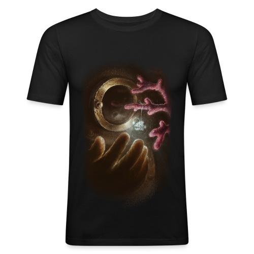 TEST-INKegerge - Obcisła koszulka męska