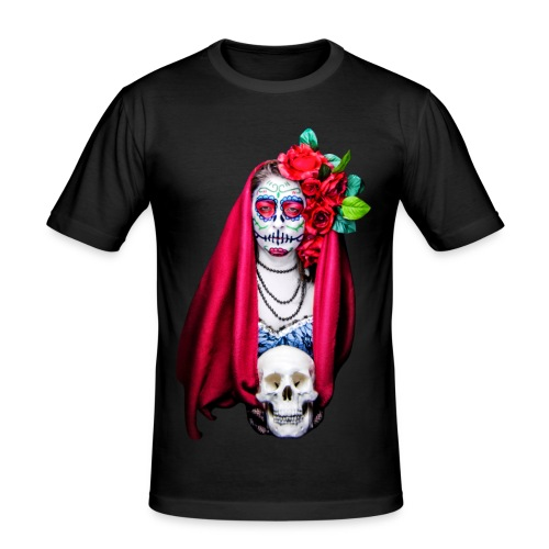 Catrina Calavera - Camiseta ajustada hombre