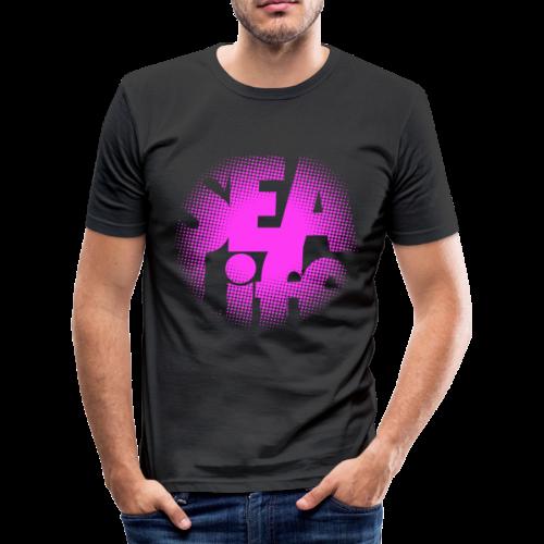 Sealife surfing tees, clothes and gifts FP24R01B - Miesten tyköistuva t-paita