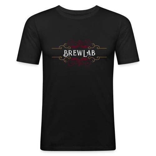 brewlab color - T-shirt près du corps Homme