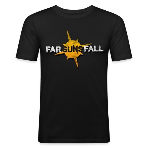 Far Suns Fall Logo - Men's Slim Fit T-Shirt