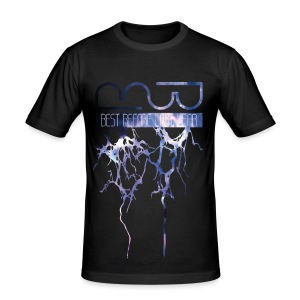 Unisex Hoodie Lightning - Men's Slim Fit T-Shirt