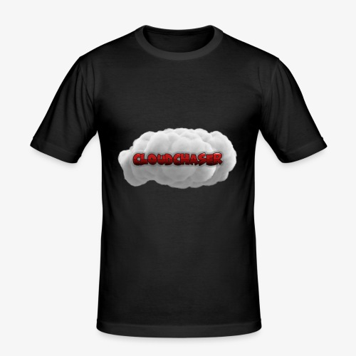 Cloudchaser Logo - Männer Slim Fit T-Shirt