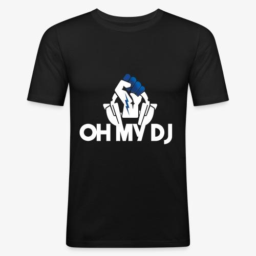 Ibiza Oh My Dj White - T-shirt près du corps Homme