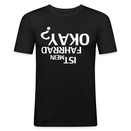 Ist mein Fahrrad Okay? - Männer Slim Fit T-Shirt