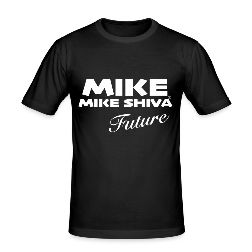 MIKE SHIVA - Männer Slim Fit T-Shirt
