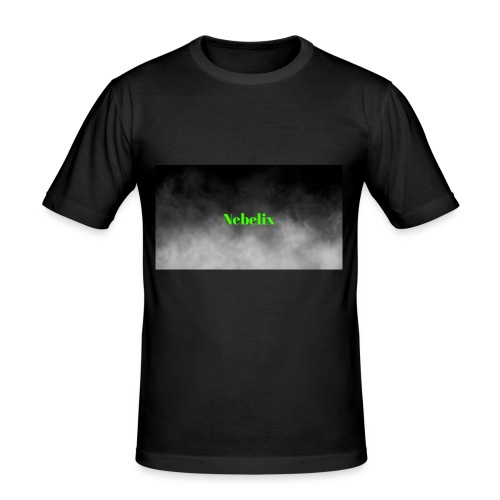 Nebelix - Männer Slim Fit T-Shirt