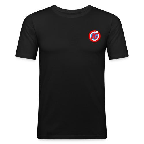 TEAM JG Logo top - Men's Slim Fit T-Shirt