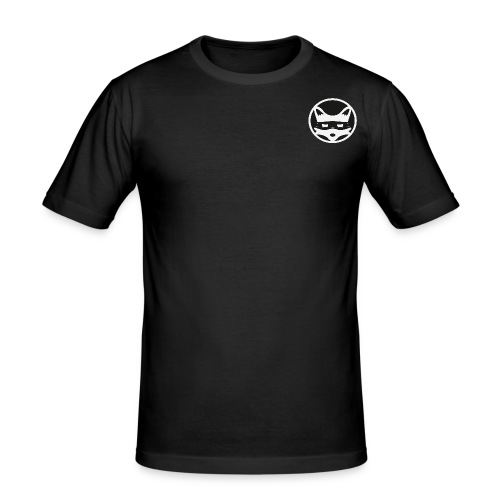 Swift Black and White Emblem - slim fit T-shirt