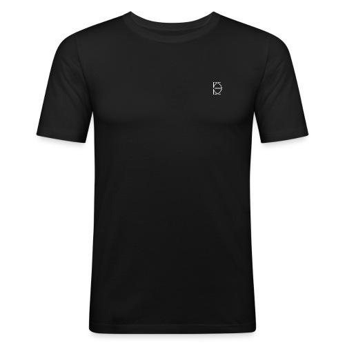 CRONE BLACK - Männer Slim Fit T-Shirt