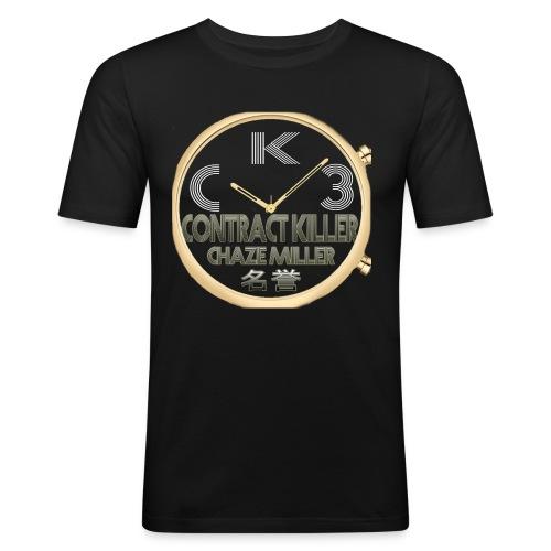 CK3 - Männer Slim Fit T-Shirt
