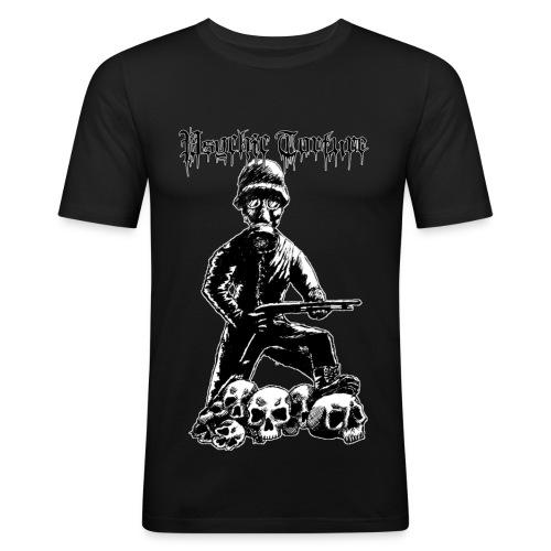 zombie army - Männer Slim Fit T-Shirt