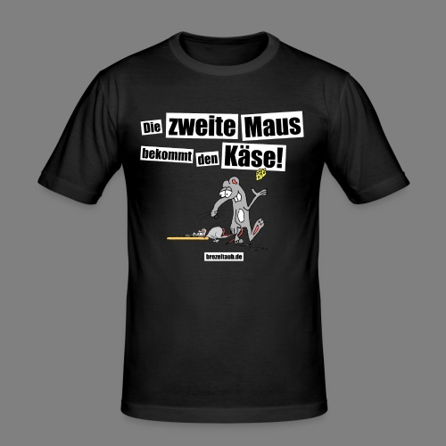 Die zweite Maus - Männer Slim Fit T-Shirt