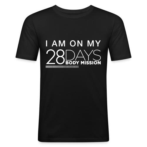 Body Mission 2017 - Männer Slim Fit T-Shirt