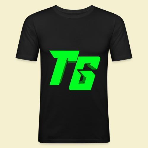 TristanGames logo merchandise [GROOT LOGO] - slim fit T-shirt
