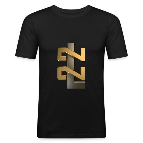 L22 Classic Logo - Slim Fit T-shirt herr